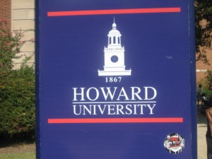 Howard University sign
