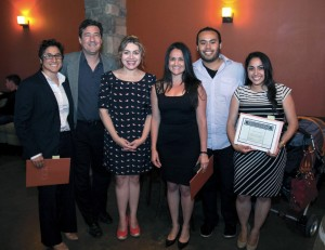 California Western alumni are pictured with members of La Raza